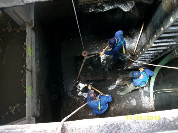 La limpieza de depósitos ha permitido mejorar su impermeabilización y eliminar las pérdidas detectadas. | DA