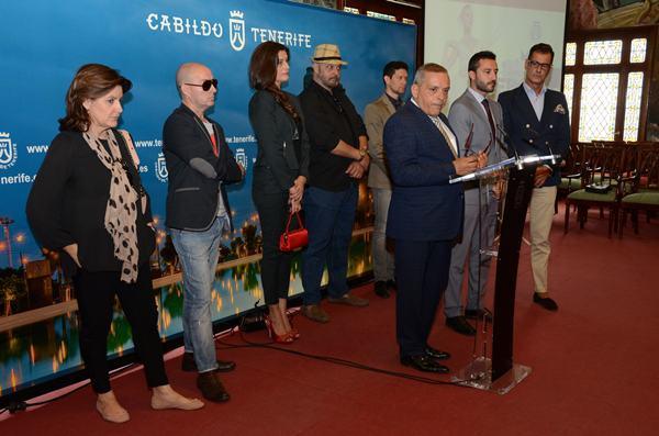 La muestra fue presentada ayer en rueda de prensa por el consejero insular Efraín Medina. / DA