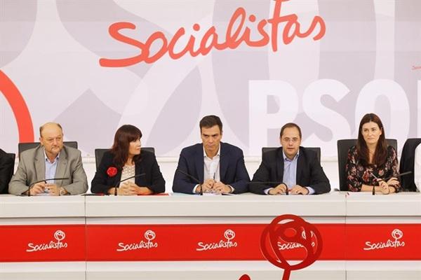 Ejecutiva federal del PSOE. / DA