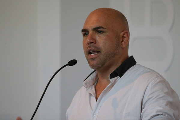 Marco González, en su presentación. / DA