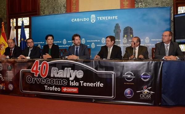 Una imagen de la presentación de la prueba en el Cabildo de Tenerife. / DA