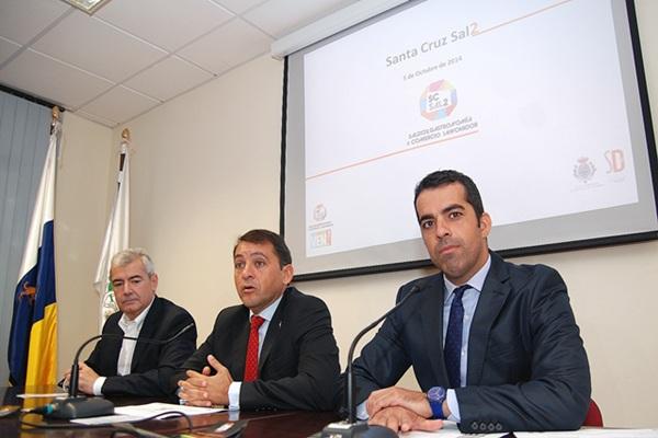 José Manuel Bermúdez y Florentino Guzmán Plasencia, ayer. / DA