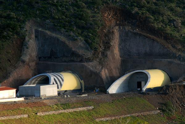 La idea es abrir en un primer momento solo uno de los tubos del túnel. | M. P.
