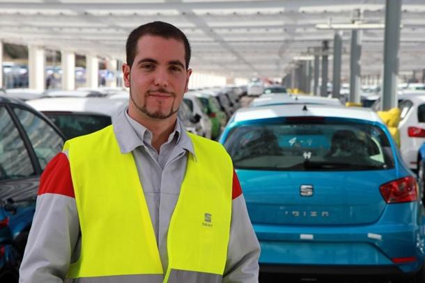 Alberto Rama es uno de los supervisores de las campas de SEAT en Martorell