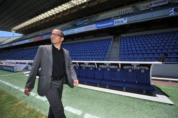 En junio de 2012 Álvaro Cervera pisaba por primera vez el césped del Heliodoro Rodríguez López como entrenador tinerfeñista. | FRAN PALLERO