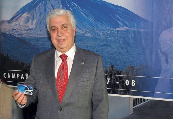 Amid Achi, empresario y expresidente de la promotora del CD Tenerife.  / DA