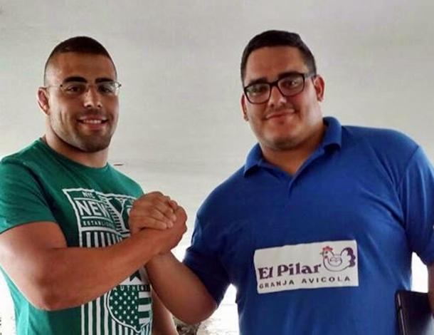 Ayoze Reyes y Fabian Rocha
