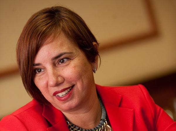 Carmen Delia Alberto es la concejal delegada de Recursos Humanos del Ayuntamiento de Santa Cruz. / FRAN PALLERO