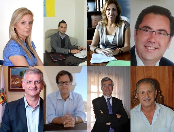 Macarena Fuentes, David Bazo, Sandra Rodríguez, Enrique García, Francisco Linares, Francisco González, Álvaro Dávila, Haroldo Martín. / DA -M.P.P.