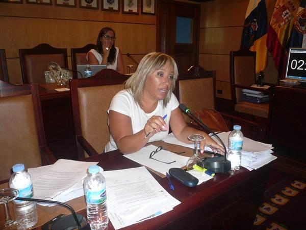 Carina Dainotto, portavoz del Partido Popular. | DA