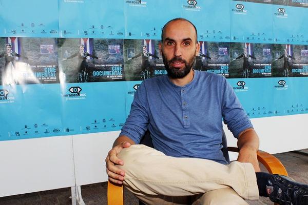 El director de cine buenavistero David Baute, director del MiradasDoc Market. / DA