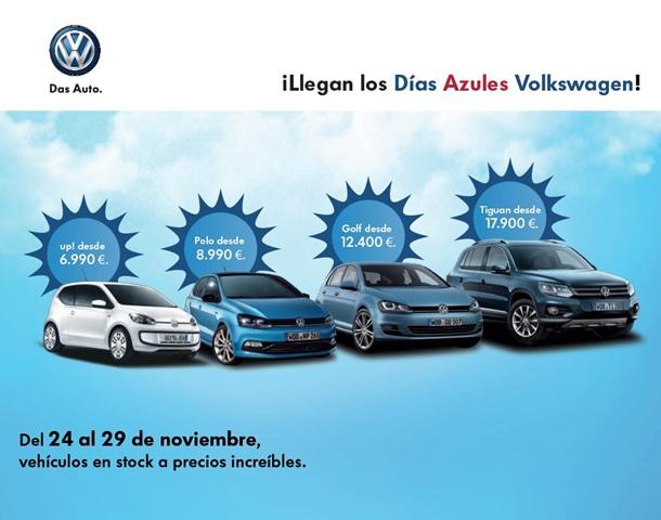Dias azules Volkswagen en Canarias