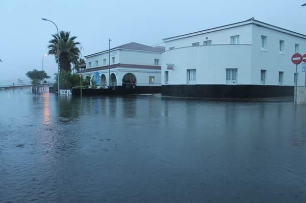 Inundación de Icod de Los Vinos.   Twitter