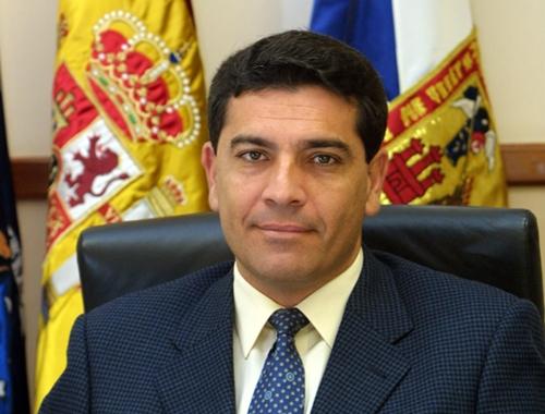 José Gumersindo García es alcalde desde el 16 de julio de 2001. / DA