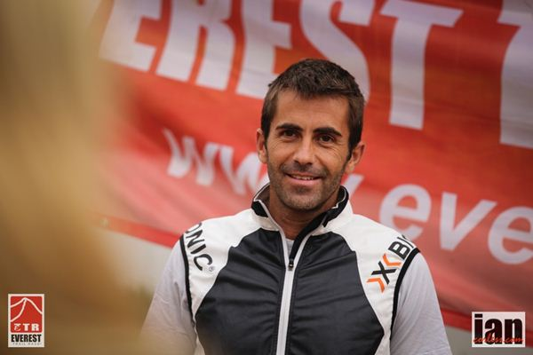 José Delgado, conocido en este deporte como el Lechuga. / ian corless