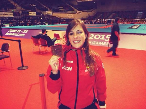 Laura Palacio, pudo estar en Bremen gracias a la ayuda del OAD de La Laguna y Health & Sport. / DA