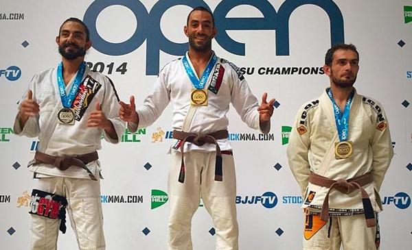 Blas Hernández, medalla de oro en Madrid en menos de 70 kilogramos. / DA