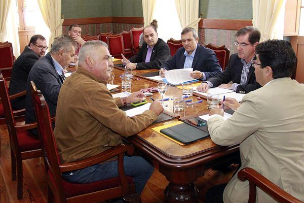 Los ocho alcaldes del suroeste de Tenerife se reunieron ayer en Guía de Isora y lo volverán a hacer dentro de un mes. | DA