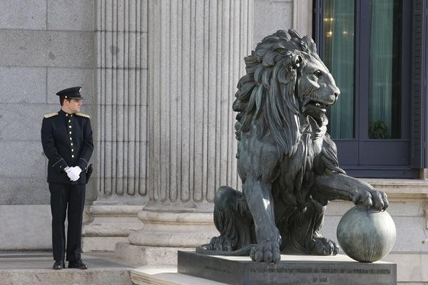 Daoíz, el león castrado. / DA