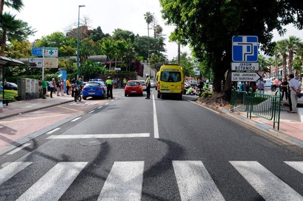 En el cruce de las calles Retama y Camelia se ubicará una rotonda, muy demandada por los ciudadanos./ M.P.P.