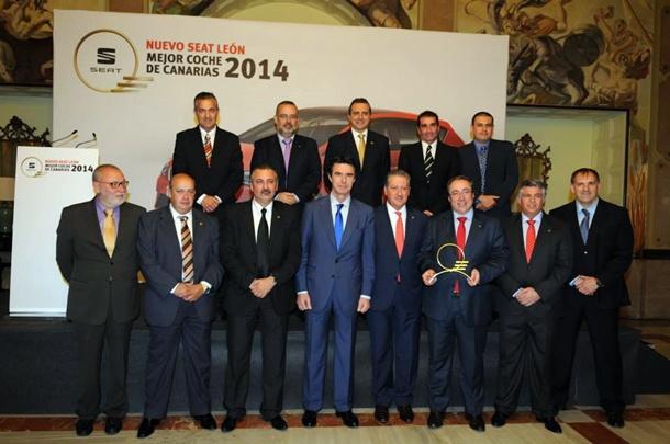Premio Mejor coche en Canarias jurado y premio SEAT