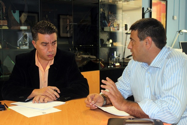 Germán Rodriguez y Ramón Miranda
