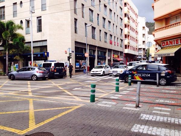 La presencia policial será una constante en Salamanca, según la Delegación del Gobierno. / DA