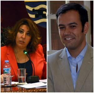 Sandra Rodríguez culpó a Lope Afonso de muchos de los problemas que tiene actualmente el municipio. | M.P.P.