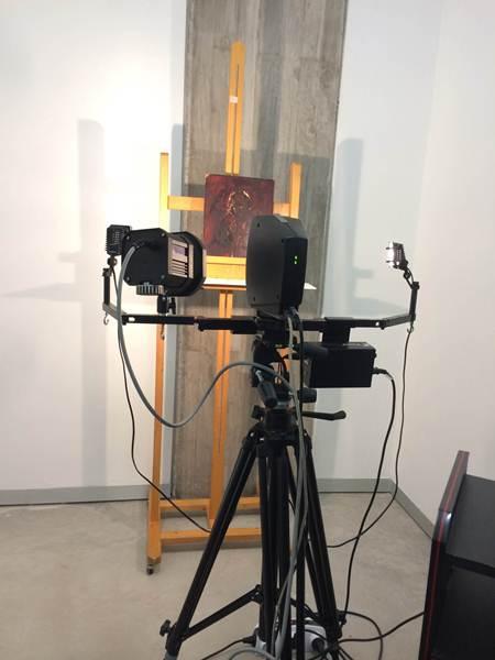 La cámara multiespectral Artis es clave para los restauradores. | CEDIDA