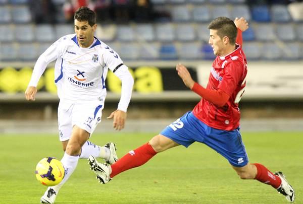 El Numancia-Tenerife (0-0) de noviembre de 2013 fue la última vez que los isleños no encajaron gol fuera. | DA