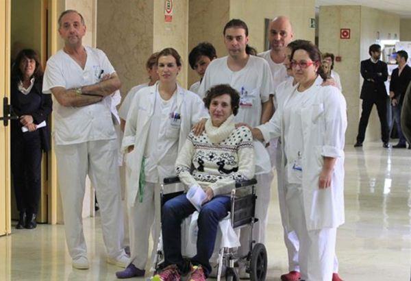 Teresa Romero ha sido dada de alta hoy.   EUROPA PRESS
