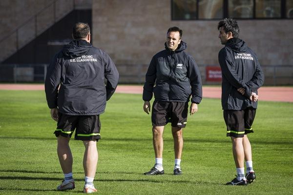 Los catalanes han logrado ascender desde las categorías regionales a la Segunda División en nueve años. / PABLO GARCÍA