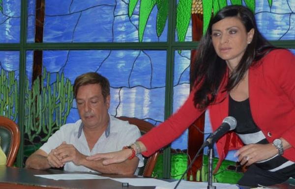 Victor Manuel Hernández y MIlagros Pérez