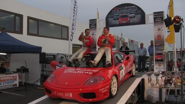 Yeray Lemes ganador del 35 rally Lanzarote