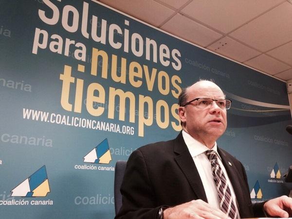 Coalición Canaria cree firmemente que se demostrará la inocencia de Clavijo. / FRAN PALLERO
