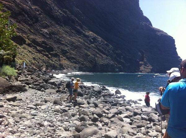 El barranco y la playa son dos de los principales atractivos de Masca.   Reportaje fotográfico: SARA GONZÁLEZ