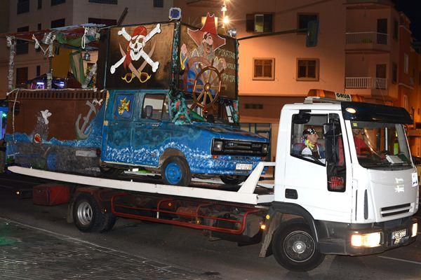 Los requisitos de seguridad aumentan para las carrozas en el Carnaval de 2015. | SERGIO MÉNDEZ