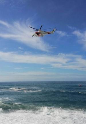El helicóptero de rescate. | DA