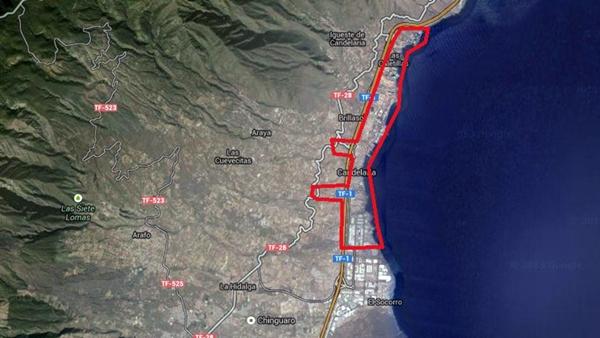 Gráfico que recoge el despliegue de banda ancha en Candelaria. / DA