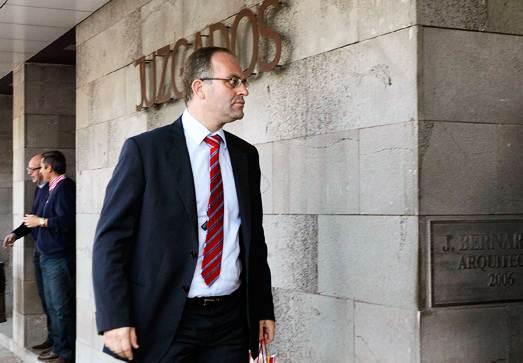 El juez del caso, César Fernández Pamparacuatro.   DA