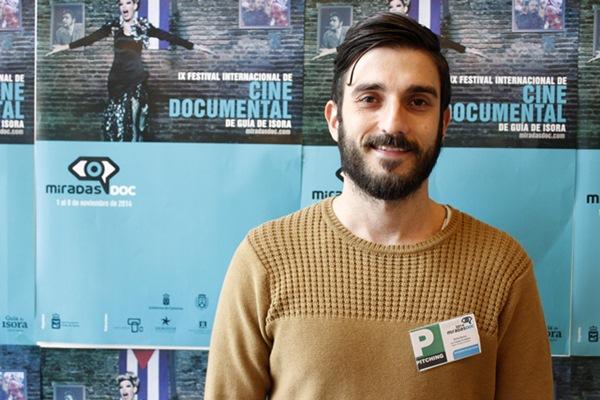 El joven realizador tinerfeño Dailo Barco. / DA