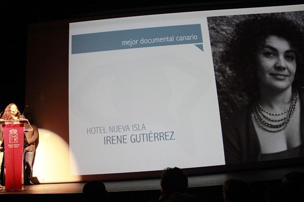 El premio al Mejor Documental Canario recayó en el filme Hotel Nueva Isla. / DA