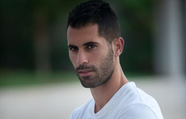 Javi Moyano, jugador del CD Tenerife. / FRAN PALLERO