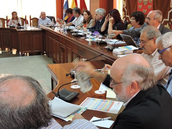 El pleno del Consejo Escolar de Canarias se reunió en el día de ayer en la sede del Cabildo de Lanzarote. / DA