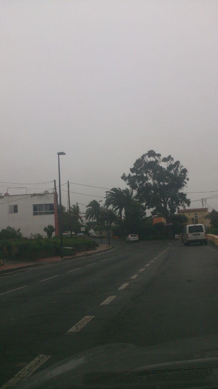 Niebla en San Juan, Tacoronte. / DA