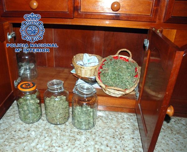 La Policía Nacional se incauta de 50 kilos de marihuana. / POLICÍA NACIONAL