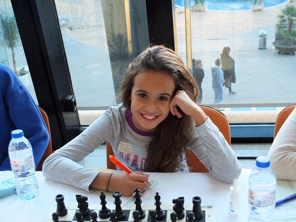 La experiencia que ya acumula Adhara Rodríguez luce en este tipo de competiciones. / J. L. F.