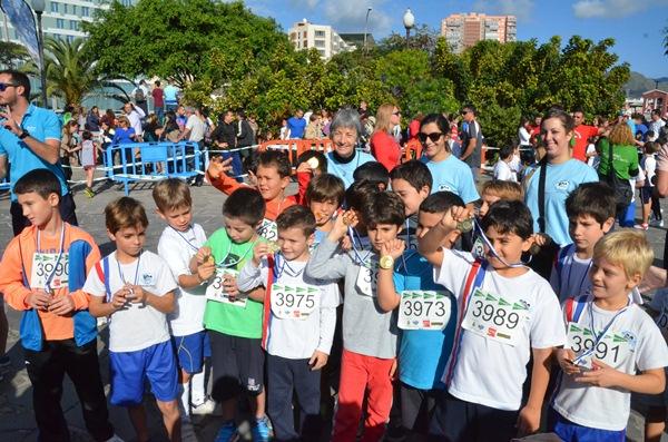 Varios participantes del Colegio Julio Verne. / DA