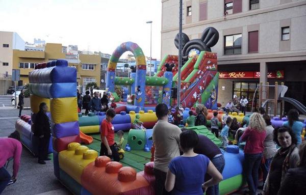 El Distrito Suroeste celebra todos los años actividades por Navidad para los más pequeños. /DA