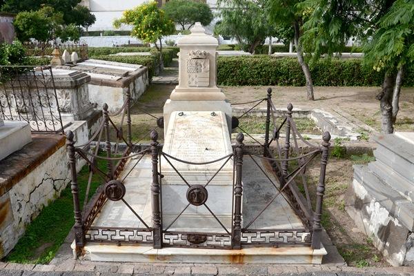 El ministro Imeldo Serís recibió sepultura en San Rafael, donde aún está el panteón que lo recuerda. / SERGIO MÉNDEZ